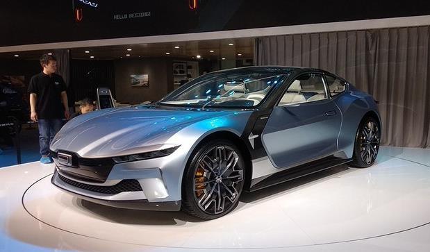 曾经国内最落魄,今有野鸡变凤凰之势,观致5G纯电轿跑概念车来了