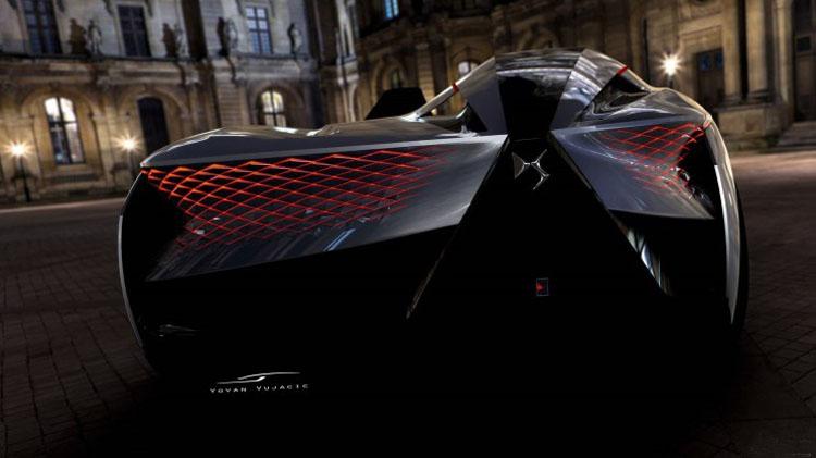 再次被法国人折服,DS的这款概念车美到让人窒息