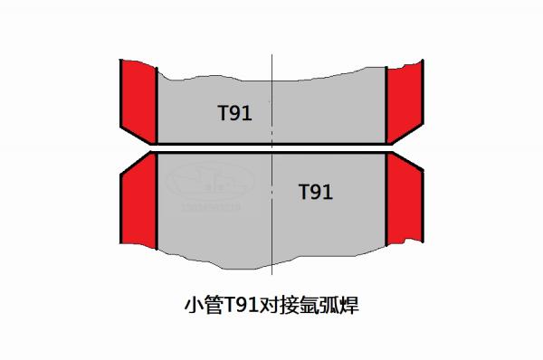 小管T91氩弧焊对接技术要点