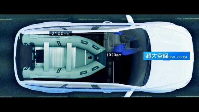 中大型SUV的擎天柱!车轱辘试驾能装路亚船众泰T800