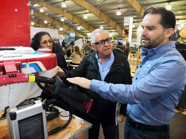 抢占海外市场 bet9九州体育登录亮相哥伦比亚国际农业展