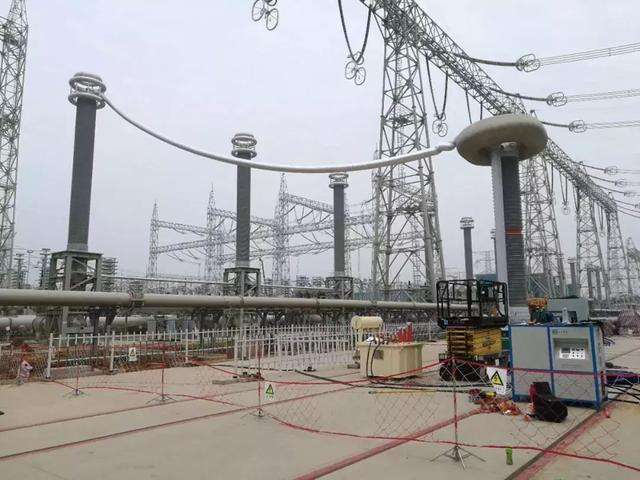 中国西电承制的古泉换流站1000千伏GIS通过现场试验