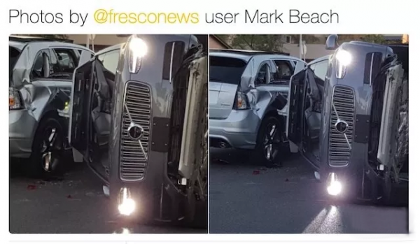 """由""""Uber自动驾驶汽车撞人致死""""事件引发的思考"""