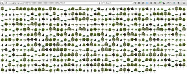 这位艺术家做了一件事,告诉你谷歌产生的碳排放有多高