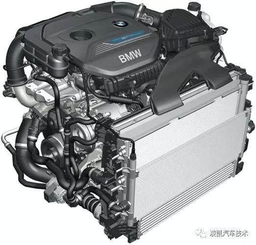 新能源汽车技术14-宝马X1插电混动车型构造(上)