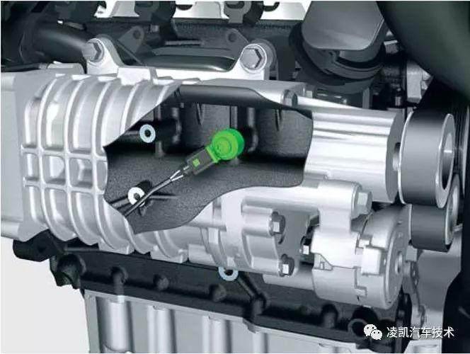 图解汽车发动机技术14:加速踏板位置传感器&爆震传感器