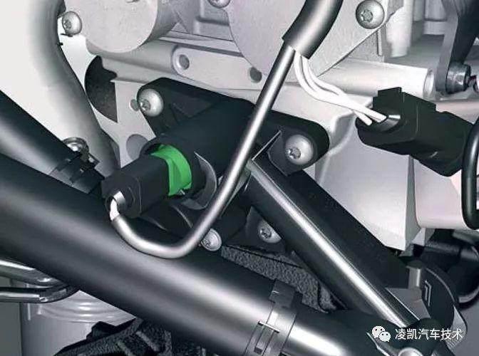 图解汽车发动机技术15-冷却液温度传感器&前/后氧传感器