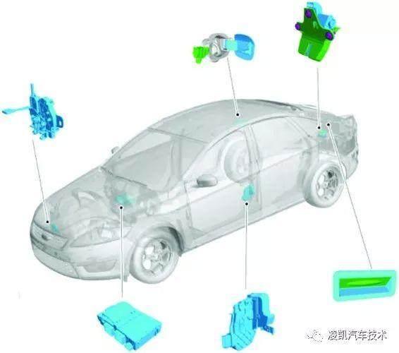 汽车科技网:'图解汽车电气技术15-汽车中控门锁系统结构与原理'