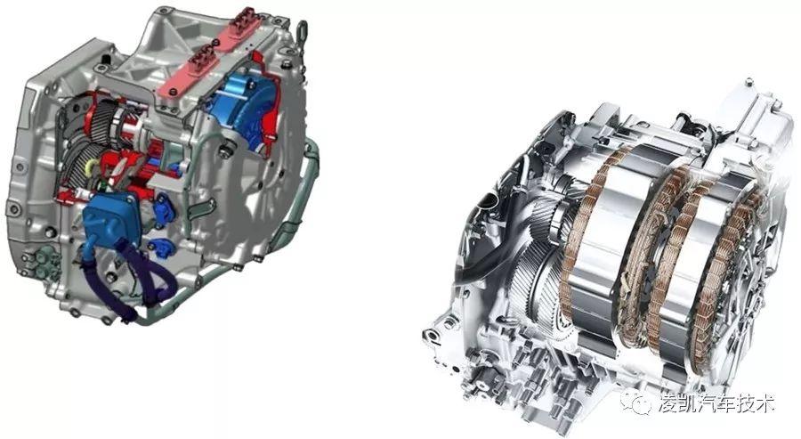 新能源汽车技术22-本田i-mmd混动e-cvt结构及各工作模式下的动力传递