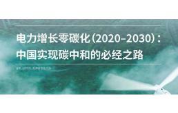 零碳化:中国实现碳中和的必经之路