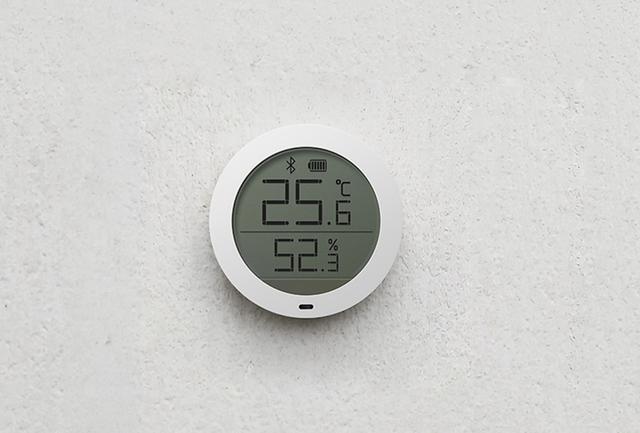 小米发布米家蓝牙温湿度计 可根据温度自动控制智能设备69元