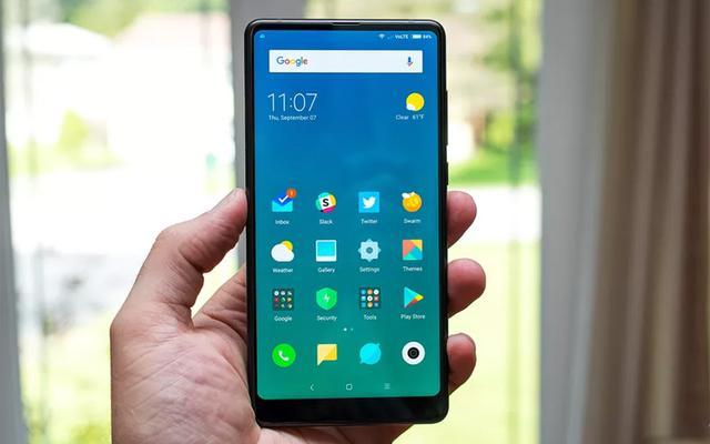 小米MIX2全面屏手势操作曝光,交互神似iPhone X