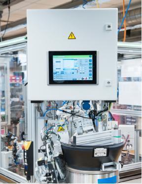 应用案例:弹簧探针在线过程监测的传感器应用