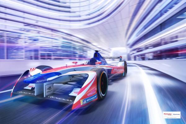 Mahindra集团和瑞萨电子宣布电动方程式赛车技术合作