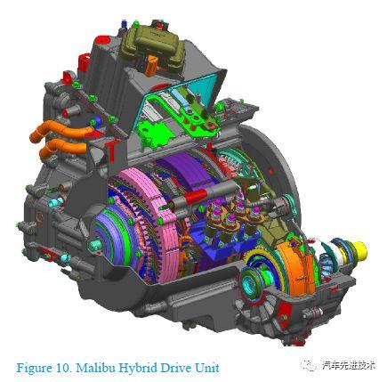 通用 Malibu(迈锐宝)混合动力系统