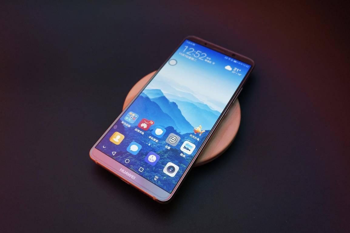 全球首款AI手机华为Mate 10 Pro当之无愧的颜值担当