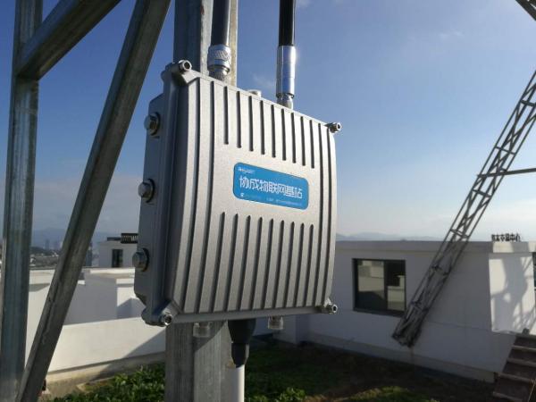 福州市第一张全域覆盖的LoRa物联网络在马尾区顺利建成