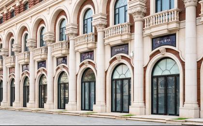 用心装饰grc成品构件成就新古典欧式建筑新典范