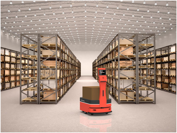 柔性仓运方案亮眼 AICRobo自主仓储运输机器人首测身手不凡