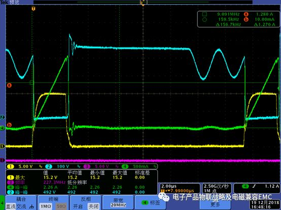 电压电流电阻_电子产品设备:开关电源FLY-关键波形分析!