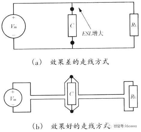 滤波电路pcb走线方式