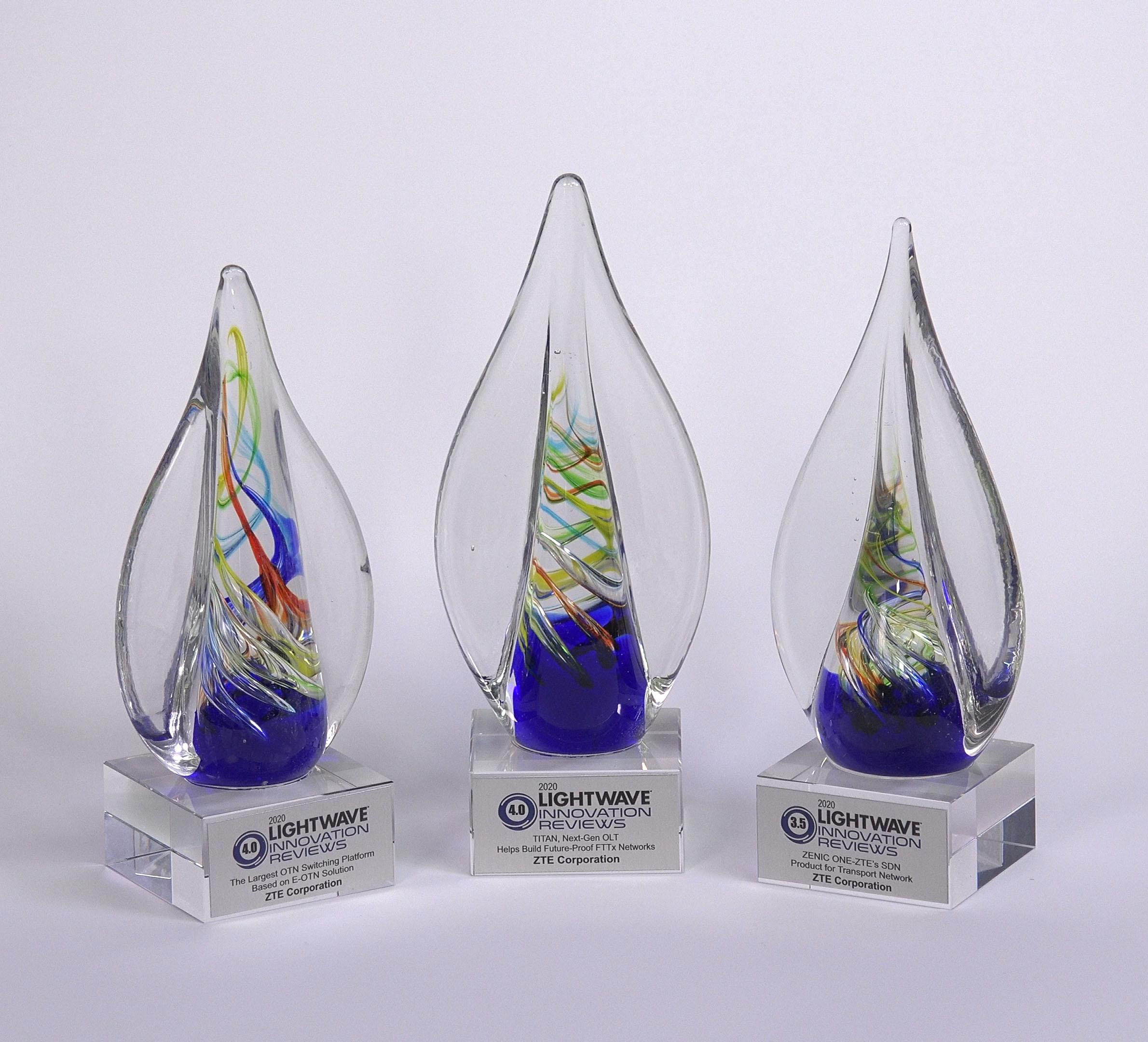 中兴通讯光通信方案在OFC 2020荣获三项创新大奖