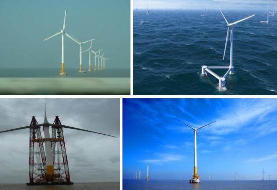 我國研發風輪直徑超200米海上風電機組