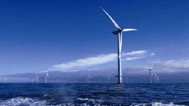 大唐首個海上風電項目主體施工全部完成