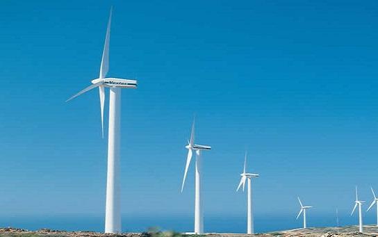 山东东明东南100兆瓦风电项目成功并网发电