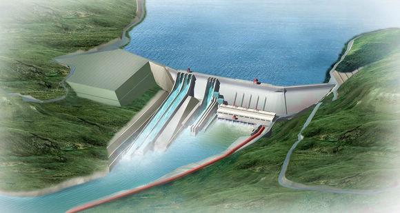 中企在尼泊尔投建最大水电站主体工程开工