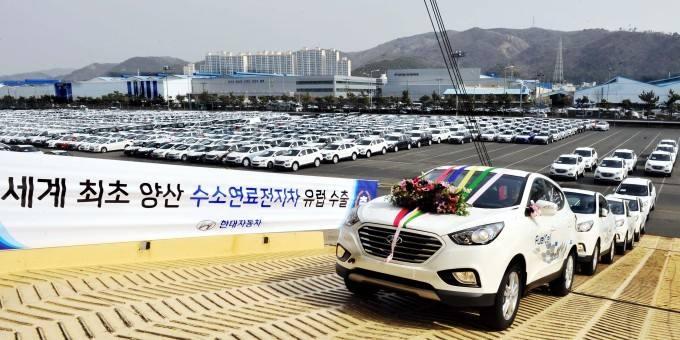 2019年韩国氢燃料电池汽车销量跃居全球第一