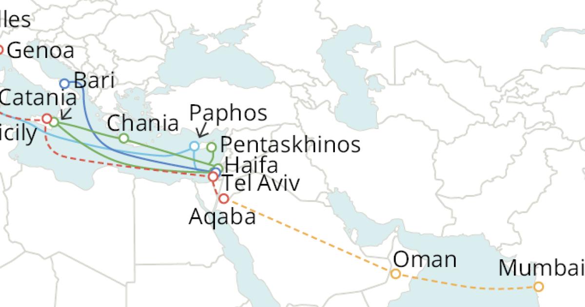 谷歌筹建新海缆系统 毗连意年夜利、以色列和印度