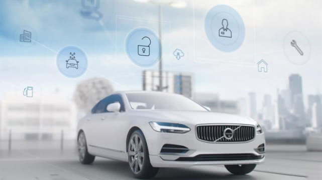 授权许可 沃尔沃获得联网汽车技术专利 -前沿投讯