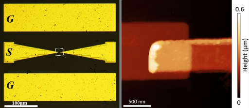 A single layer of hexagonal boron nitride forms a nanoscale switch.