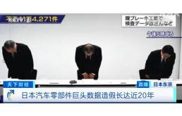 """'躬'匠精神""""!丰田控股零部件公司造假20年"""