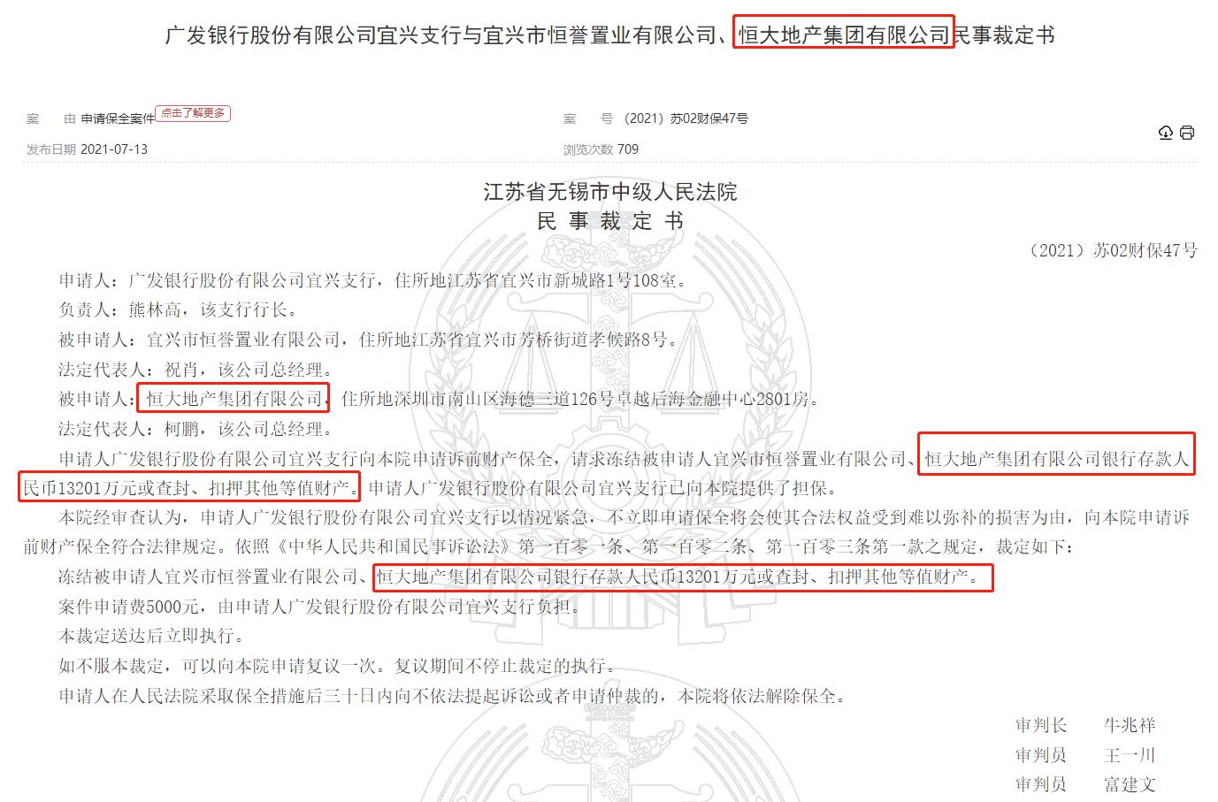 恒大汽车与中国恒大双双重挫,恒大集团发布最新声明