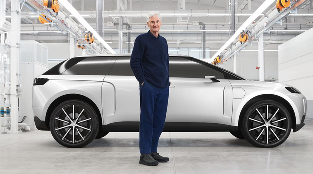 戴森首次对外展示电动汽车原型:百公里加速4.8秒,续航600英里
