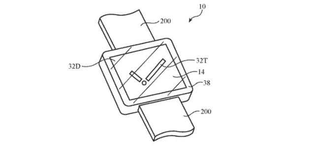 苹果Apple Watch曝光两项新专利,拟增加Touch ID和屏下隐藏式摄像头