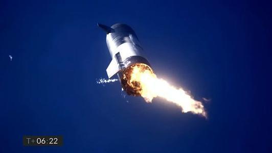 着陆失利,SpaceX星际飞船原型机SN9实验时再次发生爆炸