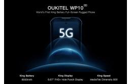 欧奇5G手机曝光,8000mAh超大电池加持