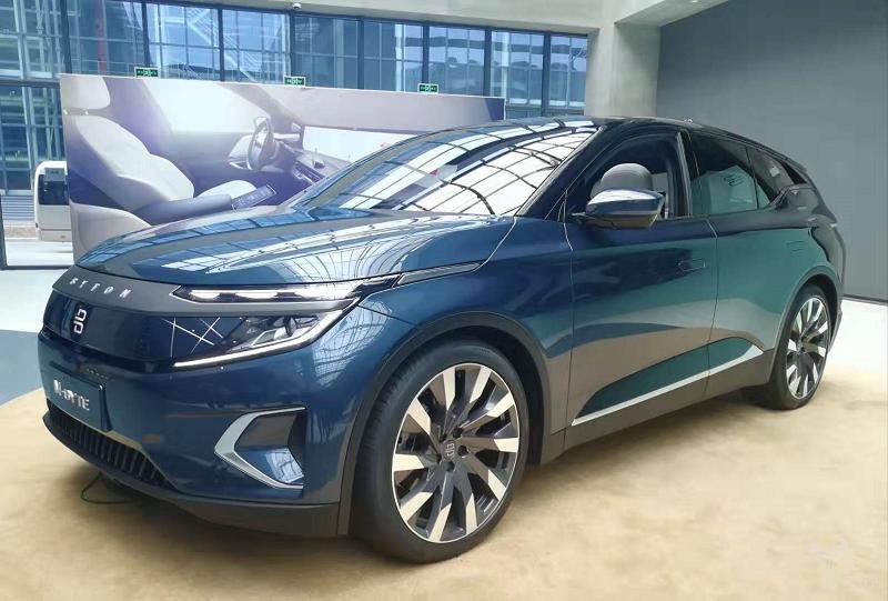 拜腾M-Byte量产版车型