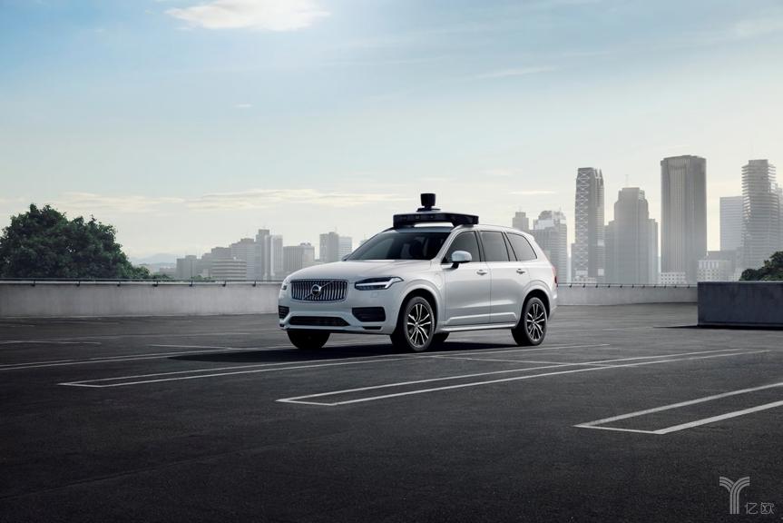 沃尔沃汽车与优步共同推出的自动驾驶车型XC90