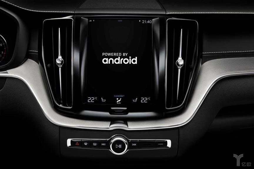 沃尔沃汽车与谷歌联合开发的下一代沃尔沃智能车载交互系统