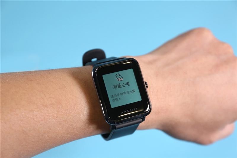 """心电图在家就能测!Amazfit米动健康手表体验:7X24小时""""知心""""神器"""