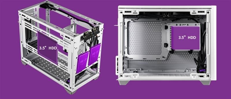 699元其实很便宜!酷冷魔方NR200P装机体验:全能的高颜值小机箱