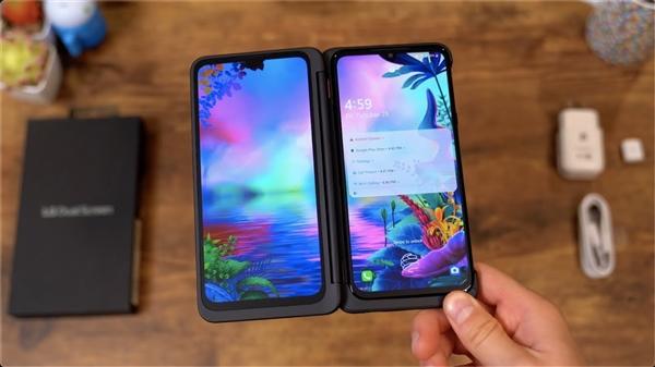 5700元 LG G8X ThinQ台湾上市:可变双屏折叠手机