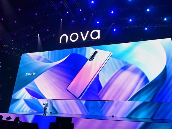 给年轻人的5G旗舰!华为nova6系列发布:麒麟990加持、DXO第一