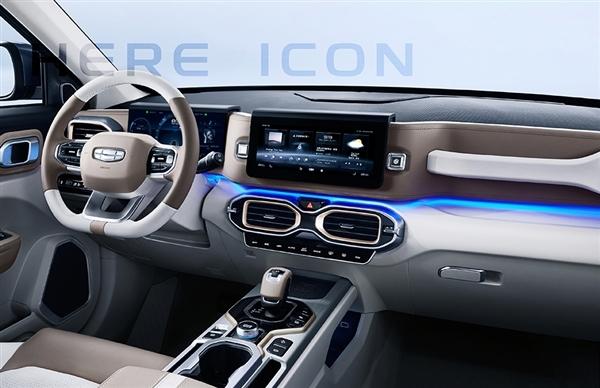 别具一格的外观、内饰设计!吉利全新SUV即将上市