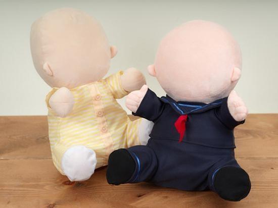 """日本推出机器人宝宝:""""不要脸""""成最大亮点"""