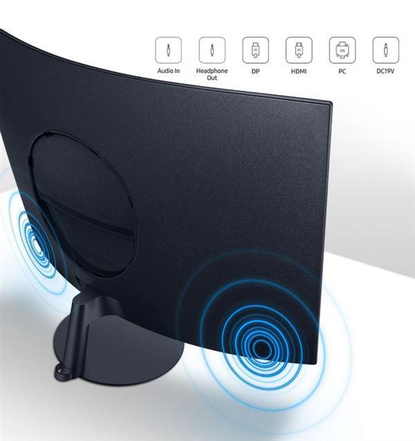 星球最高曲率!三星发布T55系列曲面显示器